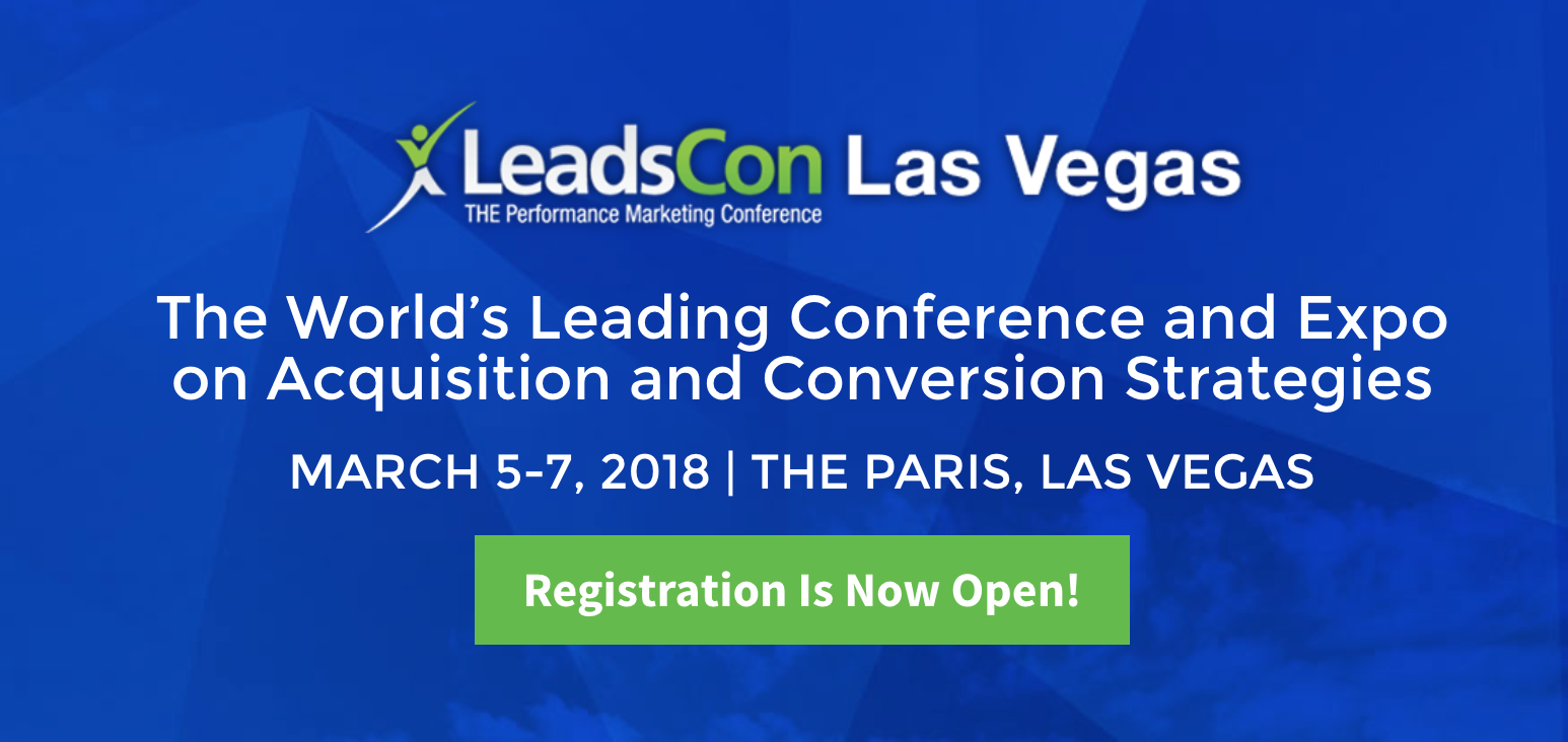 Traaqr at LeadsCon Las Vegas 2018